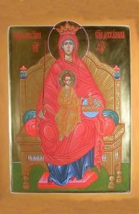 образ Богородицы Державная